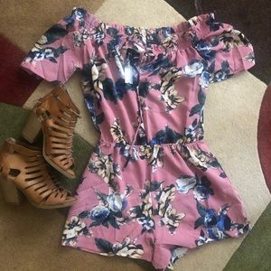 Papermoon Floral Romper